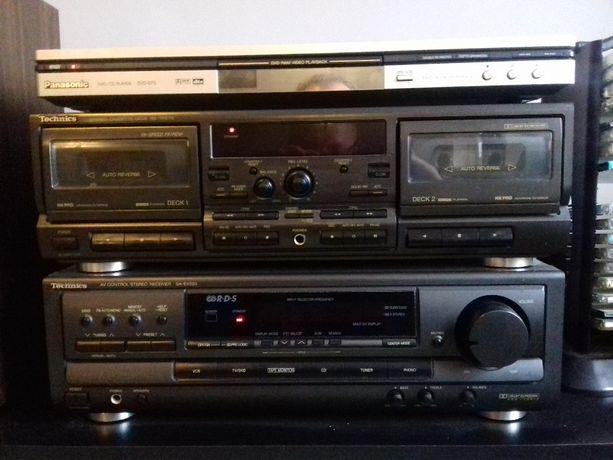 Zestaw audio - wieża Technics/Panasonic