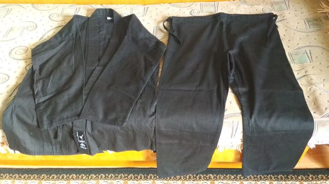Кімоно для карате (чорне)