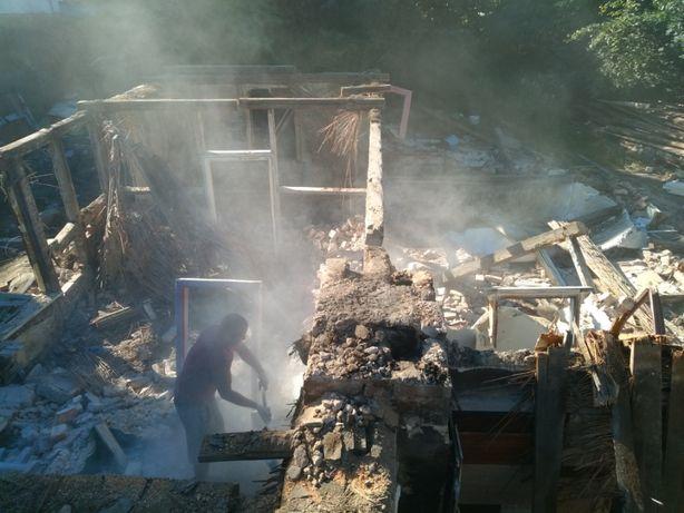 Rozbiórki, demontaż, kucie, skuwanie tynków, wyburzenia ścian, remonty