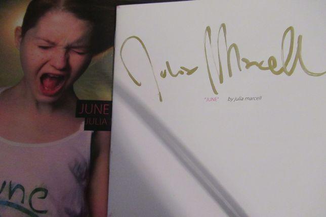 Julia Marcell - JUNE - z autografem