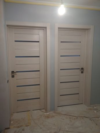 Установка межкомнатных дверей. Гарантия!