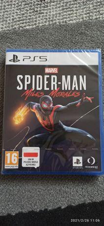 Spiderman Miles Morales PS5 folia