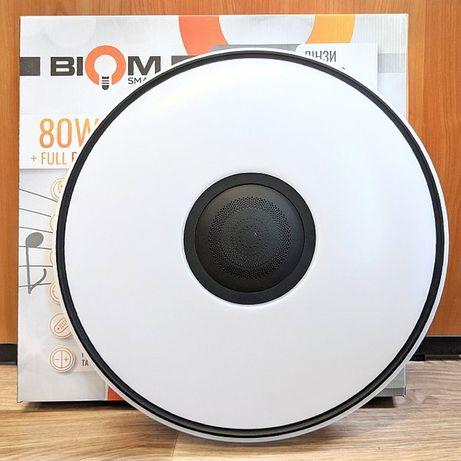 Самарт люстра  светильник Biom Smart 80W R27-80 FULL RGB с колонкой