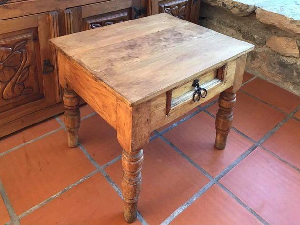 mesa, centro,  apoio, rustica, mexicana, impecável