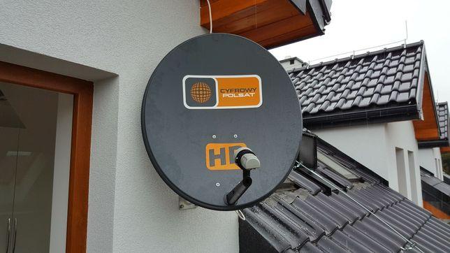 Antena sat Polsat Hd