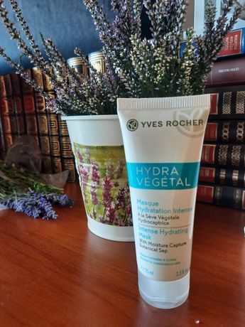 Hydra Vegetal Yves Rocher Maseczka intensywnie nawilżająca 75 ml