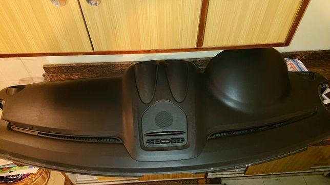 Deska rozdzielcza, konsola czarna Mercedes ML500 W164