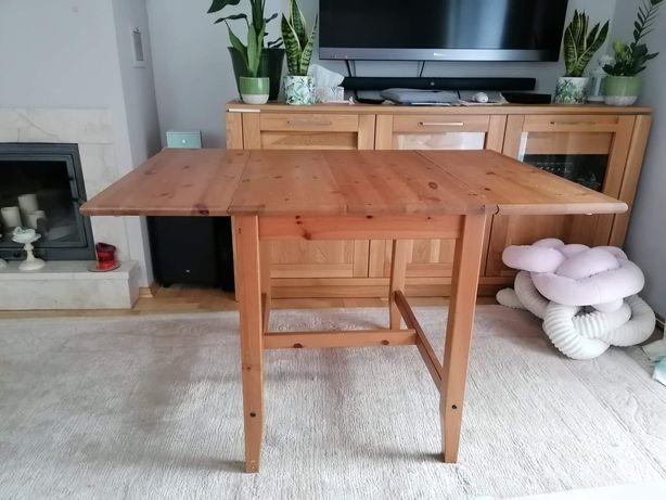 IKEA solidny drewniany stół rozkładany