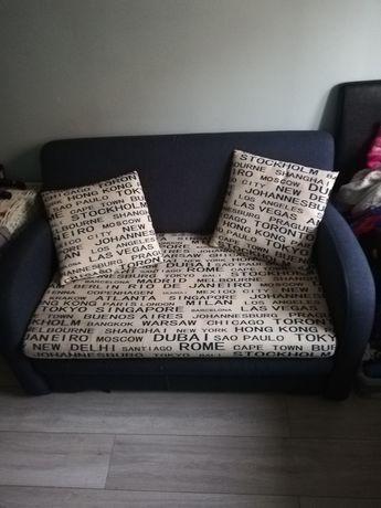 Sofa kanapa amerykanka 2 osobowa z funkcją spania.