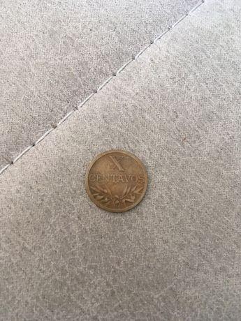 Moeda de 10 centavos de 1942