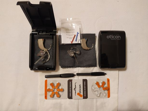 2 aparaty słuchowe Oticon RIA 2 PRO BTE 13 (85