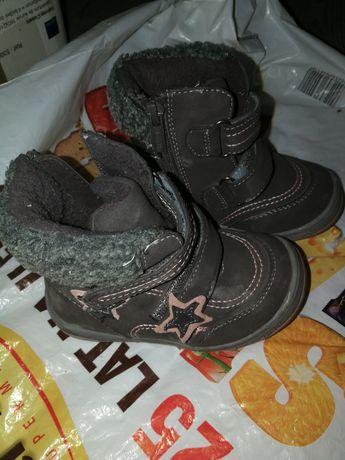 Kozaczki kozaki dla dziewczynki botki buty zimowe Nelli Blu CCC