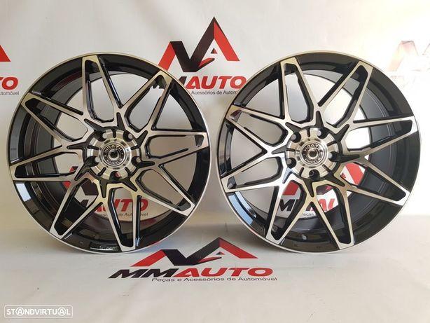 Jantes Wrath WF6 Black Polished 18 (AUDI, VW, Mercedes)
