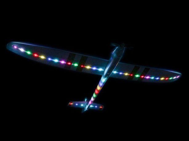 Samolot szybowiec Motoszybowiec rc e-flite night radian BNF nowy 2 m