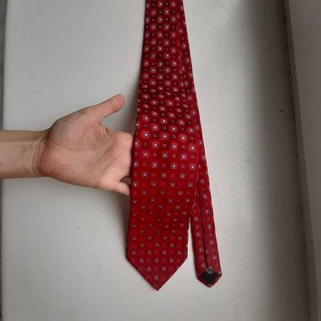 Шелковый итальянский галстук Hugo Boss