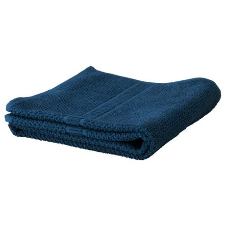 Банний рушник, темно -синій, 100x150 см FRÄJEN супер якість в наявност