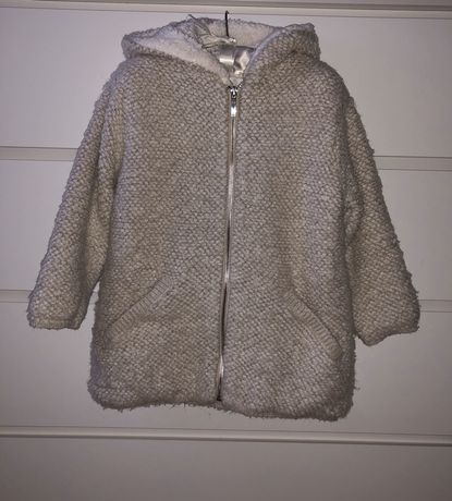 Курточка, пальтишко Zara для девочки размер 5-6 лет