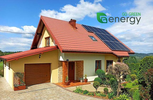 FOTOWOLTAIKA instalacja fotowoltaiczna 5kW z montażem, panele solary