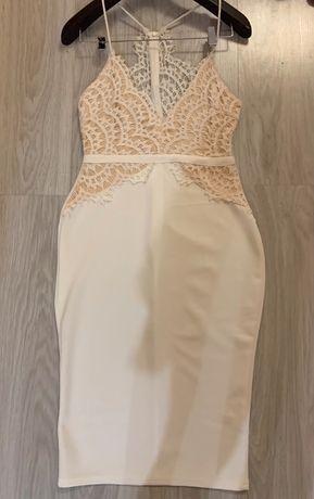 Белое платье (L)