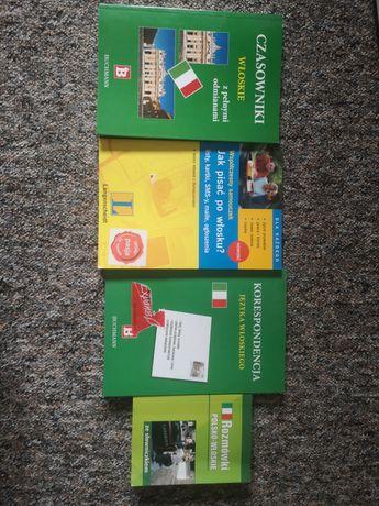 Język włoski. Zestaw 4 książek do nauki