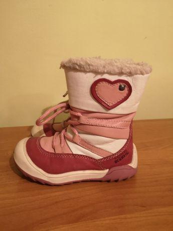 Buty zimowe lasocki dla dziewczynki r. 24