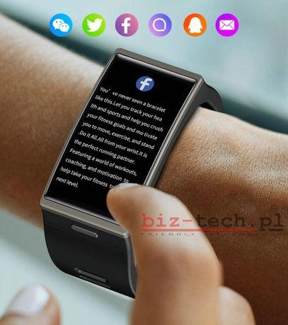 Smartwatch Face DM12 1,91 cala tętno ciśnienie krokomierz NOWY PL 24h