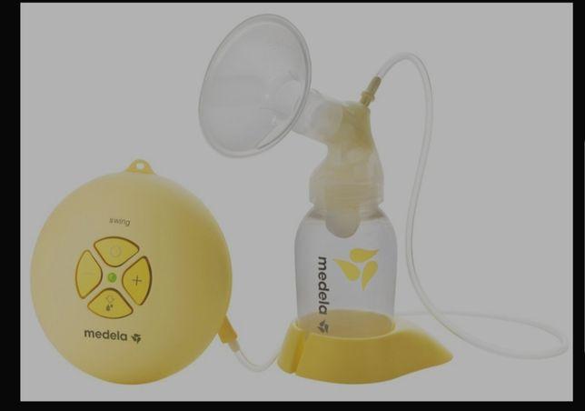 Bomba de aleitamento medela swing eletrica oferta de sacos para leite