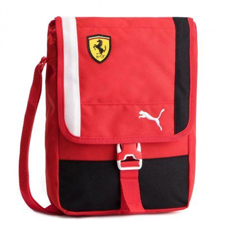 Saszetka listonoszka PUMA FERRARI - SF Fanwear Portable Rosso Corsa