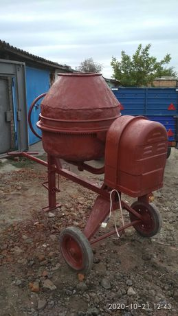 Профессиональная польская бетономешалка  (бетономішалка) на 260 литров