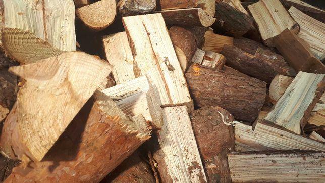 Drewno opałowe: sosna do 25 cm