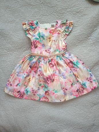 Piękna sukienka wizytowa, na roczek