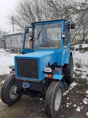Трактор т25 т40 минитрактор  самодельный трактор мерседес с навесным