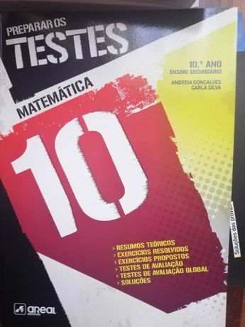 Livro de preparação para testes Matemática e Física e Química 10º ano