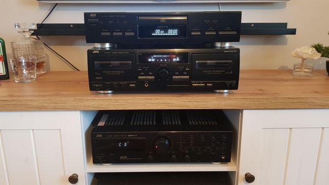 JVC RX-230R + TD-W254 + XL-V120
