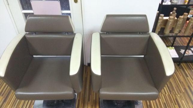 Fotele fryzjerskie / NEO Salon fryzjerski
