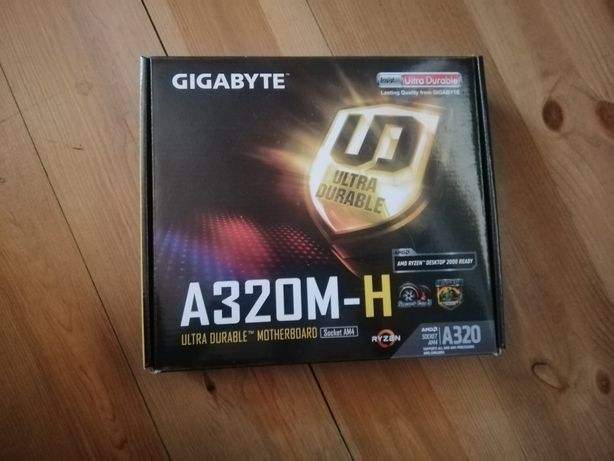 Материнская плата Gigabyte GA-A320M-H AM4 (GA-A320M-H)