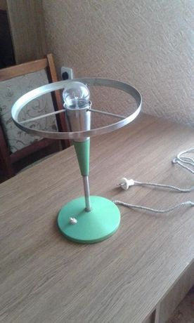 Настольная лампа без абажура, 60-е годы