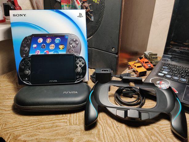 Sony ps vita 32gb+16gb, 3G прошитая