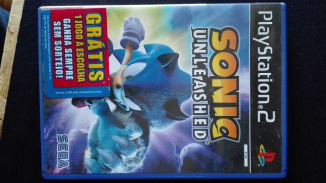 Jogo PlayStation 2 - Sonic Unleashed