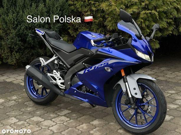 Yamaha YZF R125 model 2020, salon Polska, nowa wersja, VAT marża, transport