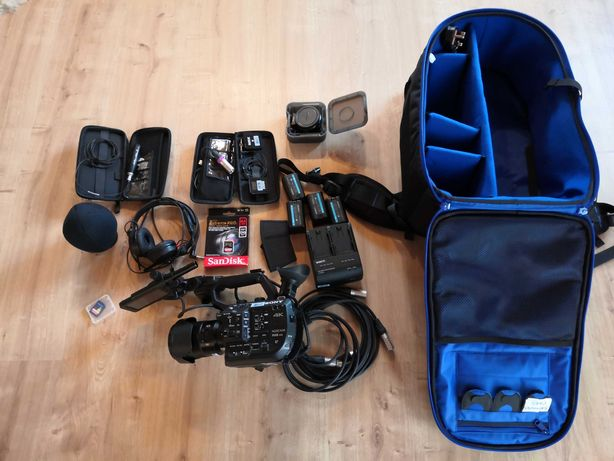 Kamera Sony SONY FS5 Mark II 4K Kit RODE Sennheiser