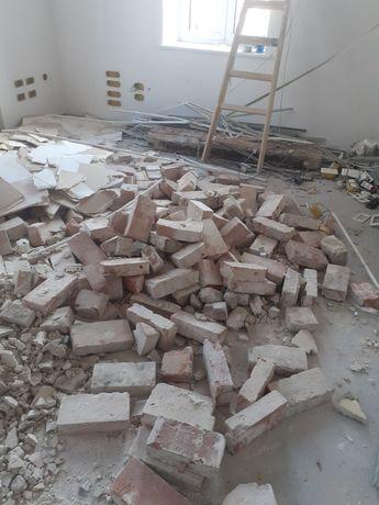 Cegły z rozbiórki