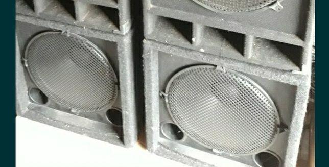 Nagłośnienie kolumny estradowe subbas subbasy nadstawki końcówka mocy