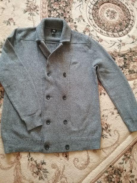 Sweter H&M ,męski rozm.L,kolor siwy.