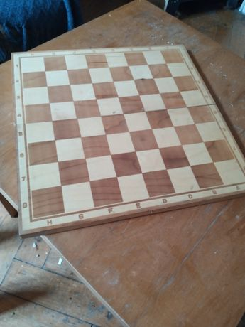 Szachy drewniane zestaw