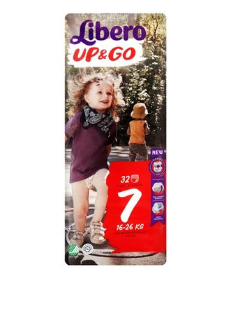 Подгузники-трусики Libero Up&Go 7