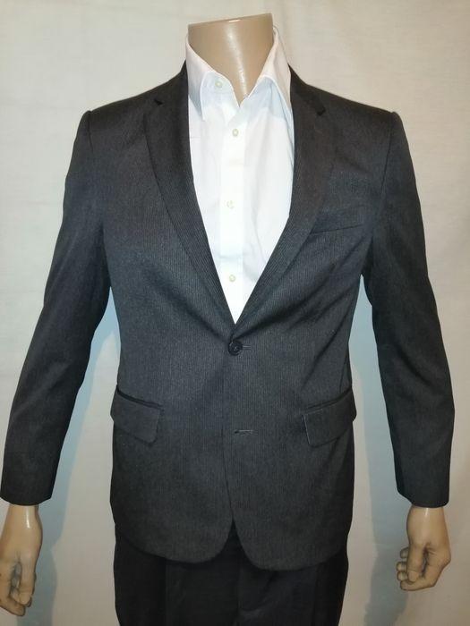 Серый утеплённый пиджак мужской Mark&Spancer M Киев - изображение 1