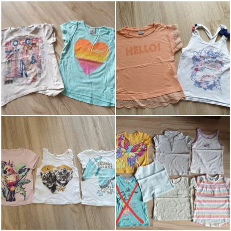 Bluzka bluzeczka koszulka letnia h&m Mayoral Reserved Cool Club Smyk