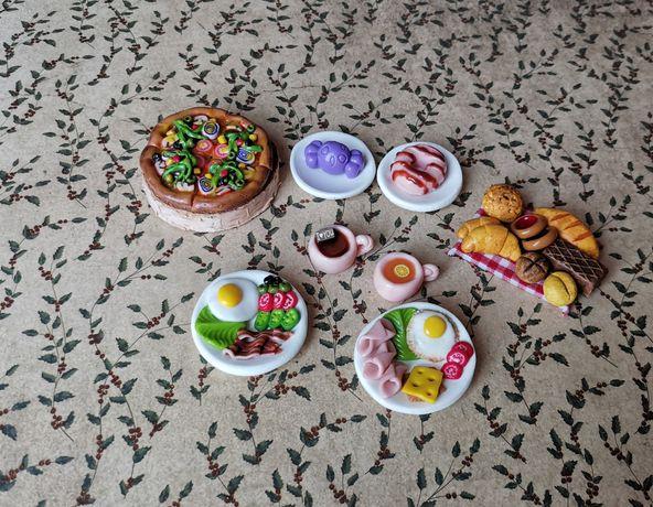 Miniatury, jedzenie dla lalek, Barbie, Schleich, Collecta, Maileg,