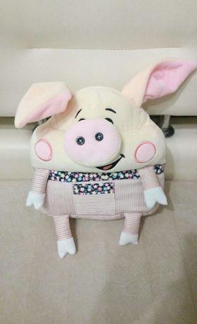 продам мягкая игрушка свинка